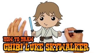 How to Draw Luke Skywalker | Star Wars