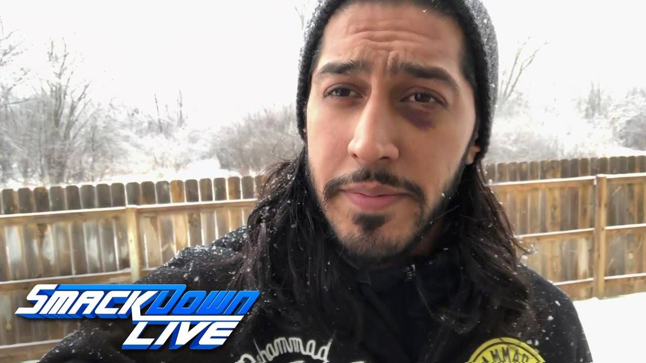 Mustafa Ali addresses his injury: SmackDown LIVE, Feb. 12, 2019