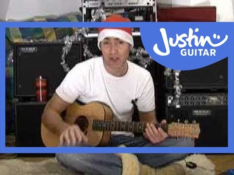 Silent Night for Solo Guitar #2of2 (Christmas Songs Guitar Lesson ST-100) How to play