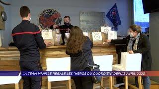Yvelines | La Team Vanille régale les«héros du quotidien» depuis avril 2020