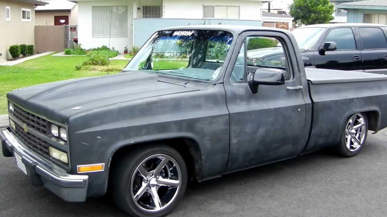 c10malv454 walkaround 1977 c10 chevy truck shortbed youtube 78 Chevy C10 Long Bed