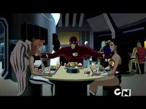 Justice League Unlimited - 4x05 - The Balance (clip)