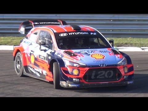 2019 Monza Rally Show: MASTERS' SHOW! - Neuville Vs Sordo Vs Mikkelsen Vs Breen On Hyundai I20 WRC!