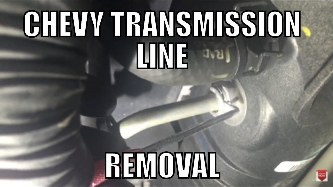 Transmission line replacement quick connects  YouTube