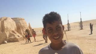 Где снимали Звездные Войны-декорации.Экскурсия в пустыню Сахара.Дети и фенёк.Фильм 45.