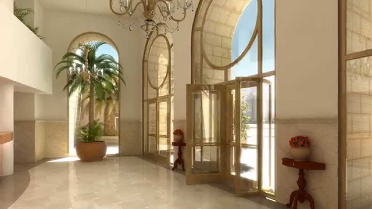 Fancy Apartment Building Lobby Youtube