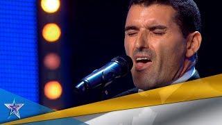 ¿PERDONA? RISTO da su PASE de ORO a este ¿CANTANTE? | Audiciones 9 | Got Talent España 5 (2019)