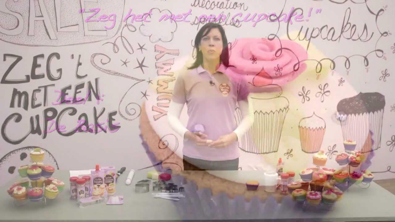 cupcakes versieren de basis youtube. Black Bedroom Furniture Sets. Home Design Ideas