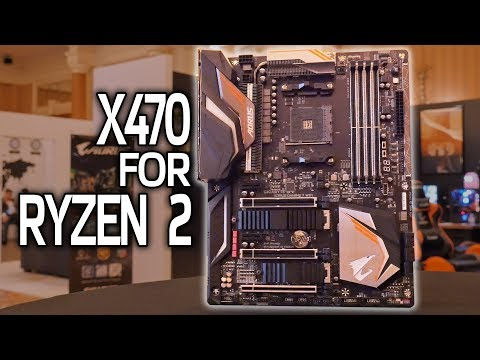 First X470 Motherboard for Ryzen 2!