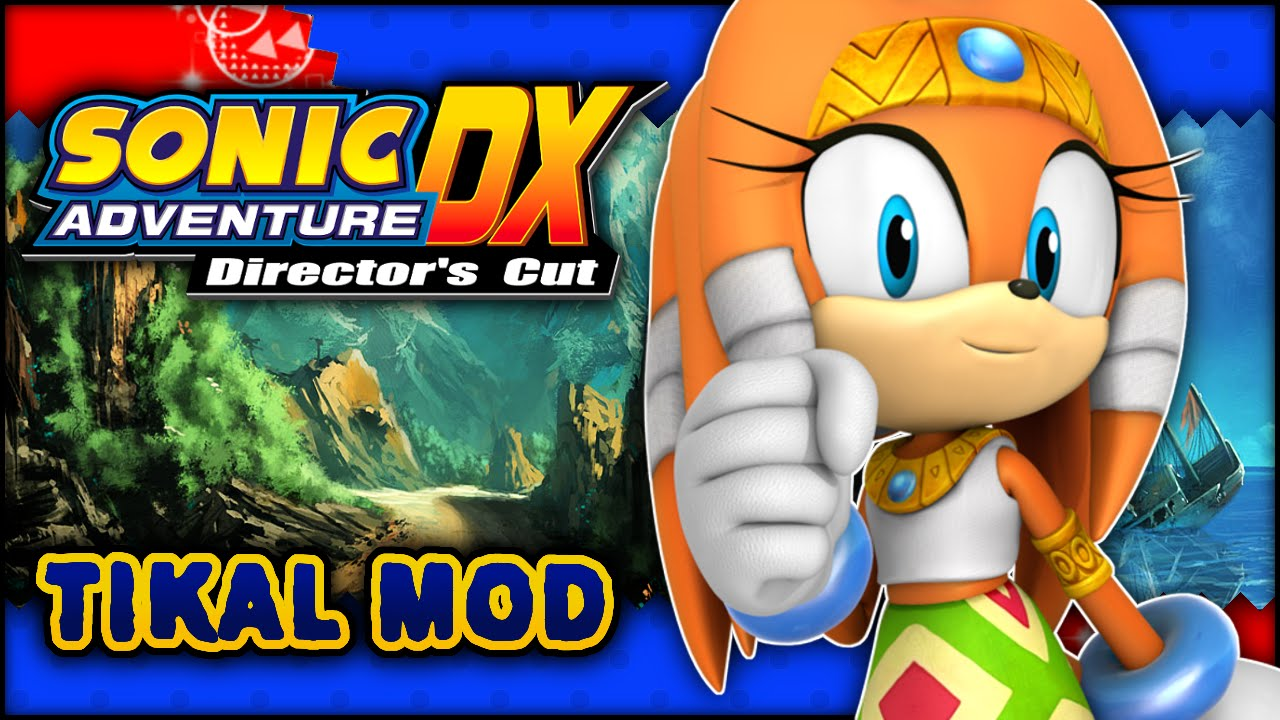 Sonic Adventure DX - Windy Valley w/ *Real* Tikal the Echidna Mod