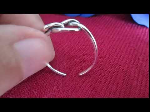 Nhẫn bạc nữ trái táo