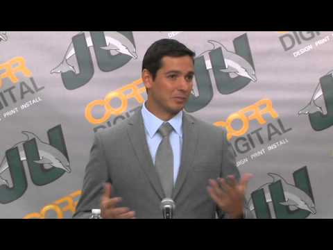 Jacksonville University Welcomes New Head Soccer Coach Mauricio Ruiz