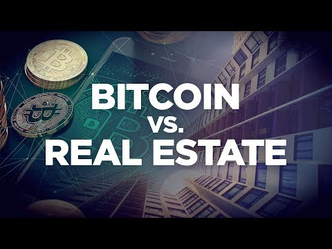 Bitcoins real estate investment