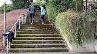 Treppensprint Sonnenberg Abteiberg - Muskelkater Rundweg