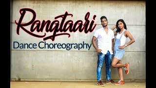 Rangtaari | Loveyatri | Dance Choreography | DANCOGRAPHY