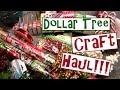 Dollar Tree Christmas Craft Supply Haul 2015!