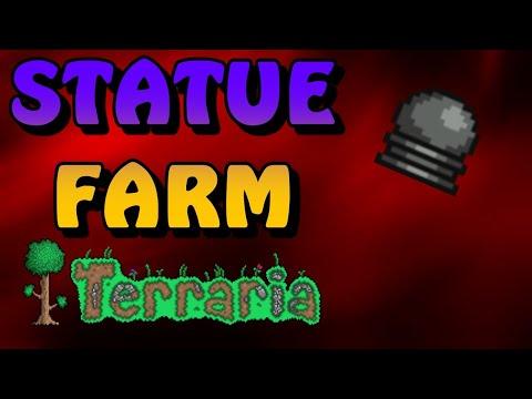 Terraria Statue Farm - STEP BY STEP