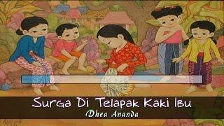 [Midi Karaoke] ♬ Dhea Ananda - Surga Di Telapak Kaki Ibu ♬ +Lirik Lagu [High Quality Sound]