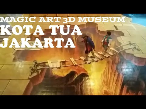 Magic art 3D museum kota tua jakarta