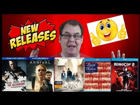 New Bluray Release Date (Jan-April 2017)