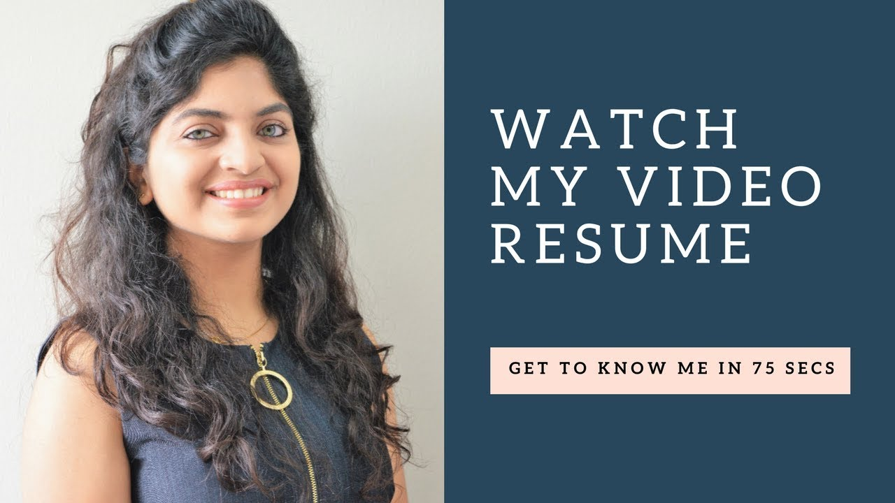 Video Resume for LinkedIn - YouTube