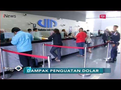 Nilai Tukar Rupiah Melemah, Warga Pemilik Dolar Padati 'Money Changer' - iNews Pagi 05/09