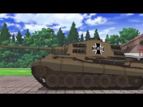 Girls und Panzer der Film - OST - When Johny comes marching home again - Old Version