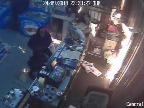 Firebomb Robbery In LaSalle