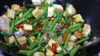 Tumis Kacang Panjang Tahu Goreng   Resep Masakan Tradisional Indonesia Enak   Bunda Airin   YouTube