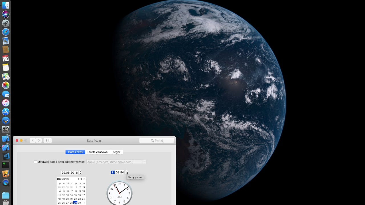 MacOS Mojave - Earth Wallpaper (Dynamic)