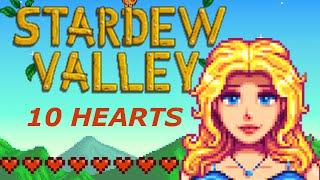 'Stardew Valley' - Haley: Ten Hearts Event