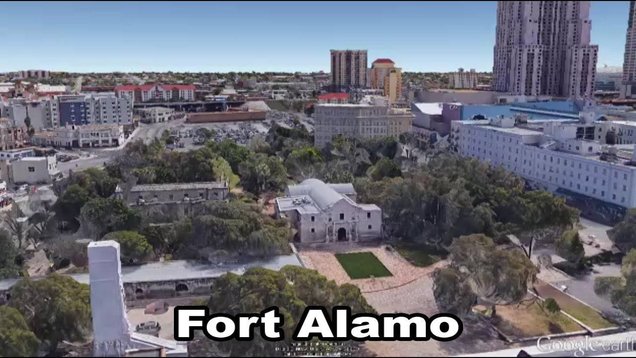 Fort Alamo San Antonio Texas Youtube