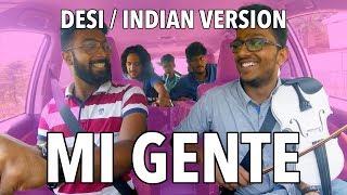 Mi Gente | Carpool Edition | Indian / Desi Cover | V Minor