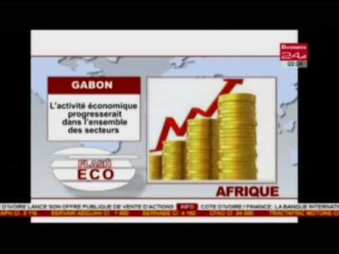 Business 24  / Flash Eco Afrique  - Gabon : L'activité économique progresserait dans l'ensemble d