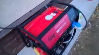 Як завести генератор. Як живити будинок від генератора.