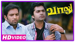 Vaalu Tamil Movie | Scenes | Police Arrests Simbu And Santhanam | Hansika