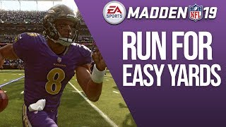 The BEST QB Run In Madden 19 - Dominate With Mobile QBs!