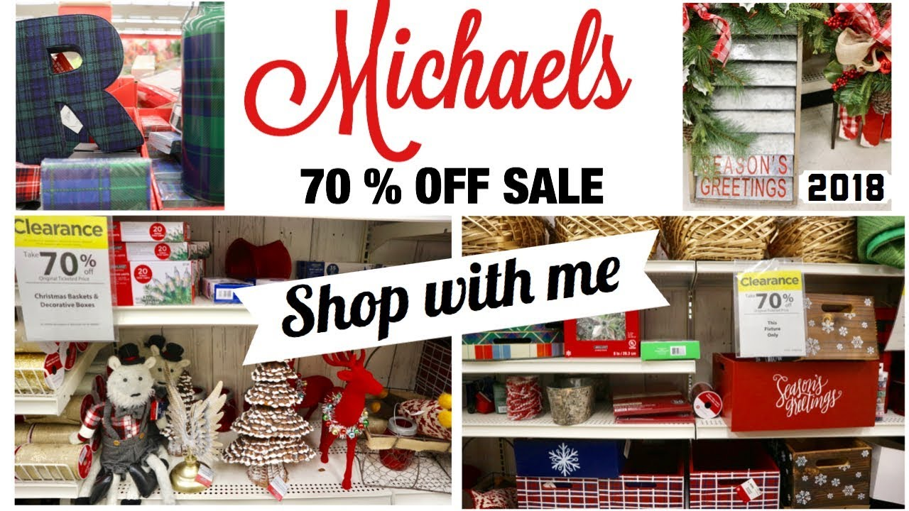 michaels huge 70 off sale 2018 shop with me after christmas haul planner washi home decor - Michaels After Christmas Sale