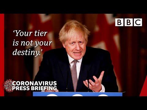Covid: Tough measures best way to avoid new year lockdown - Boris Johnson 🔴 @BBC News live - BBC