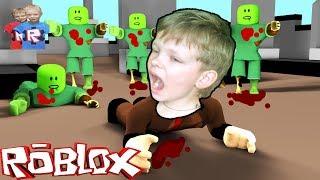 ЗОМБИ АПОКАЛИПСИС в ROBLOX УБЕГАЕМ от ЗОМБИ на КАРАБЛЕ видео для детей от канал брос шоу геймс12+