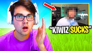 This Fortnite YouTuber is CALLING ME OUT... (toxic)
