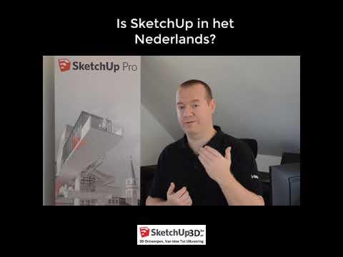 Bestaat SketchUp In Het Nederlands