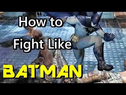 Batman Fighting Style