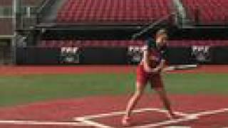 Jessica Mendoza Softball Training - HIT: Outside Pitch : Softball.com