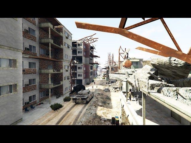 أخيرا بعد طول انتظار ماب سوريا في جي تي أي 5 | GTA V Syria Map