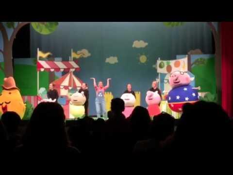 Peppa Pig Live! Peppa's Big Splash Hits the U.S.