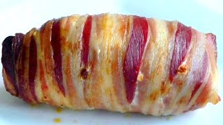 Bacon Wrapped Chicken Stuffed With Cheese How To Cook Recipe