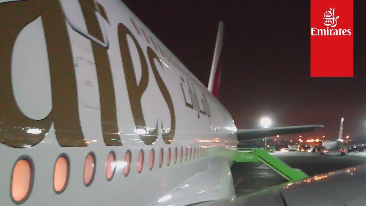 Emirates Ek804 Jeddah To Dubai Flight
