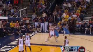 Allen Iverson 33pt vs Warriors crossover on Monta Ellis 07/08 NBA