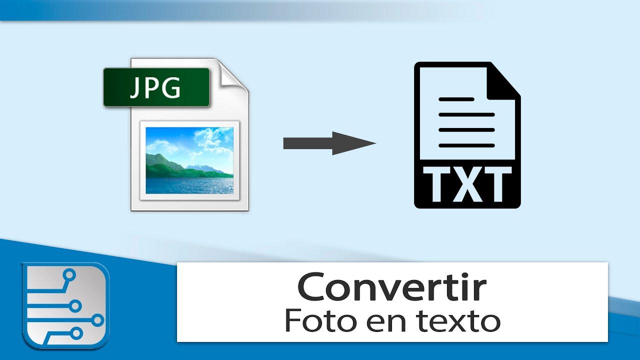 Cómo Convertir Una Imagen A Texto Sin Instalar Nada Ocr Youtube